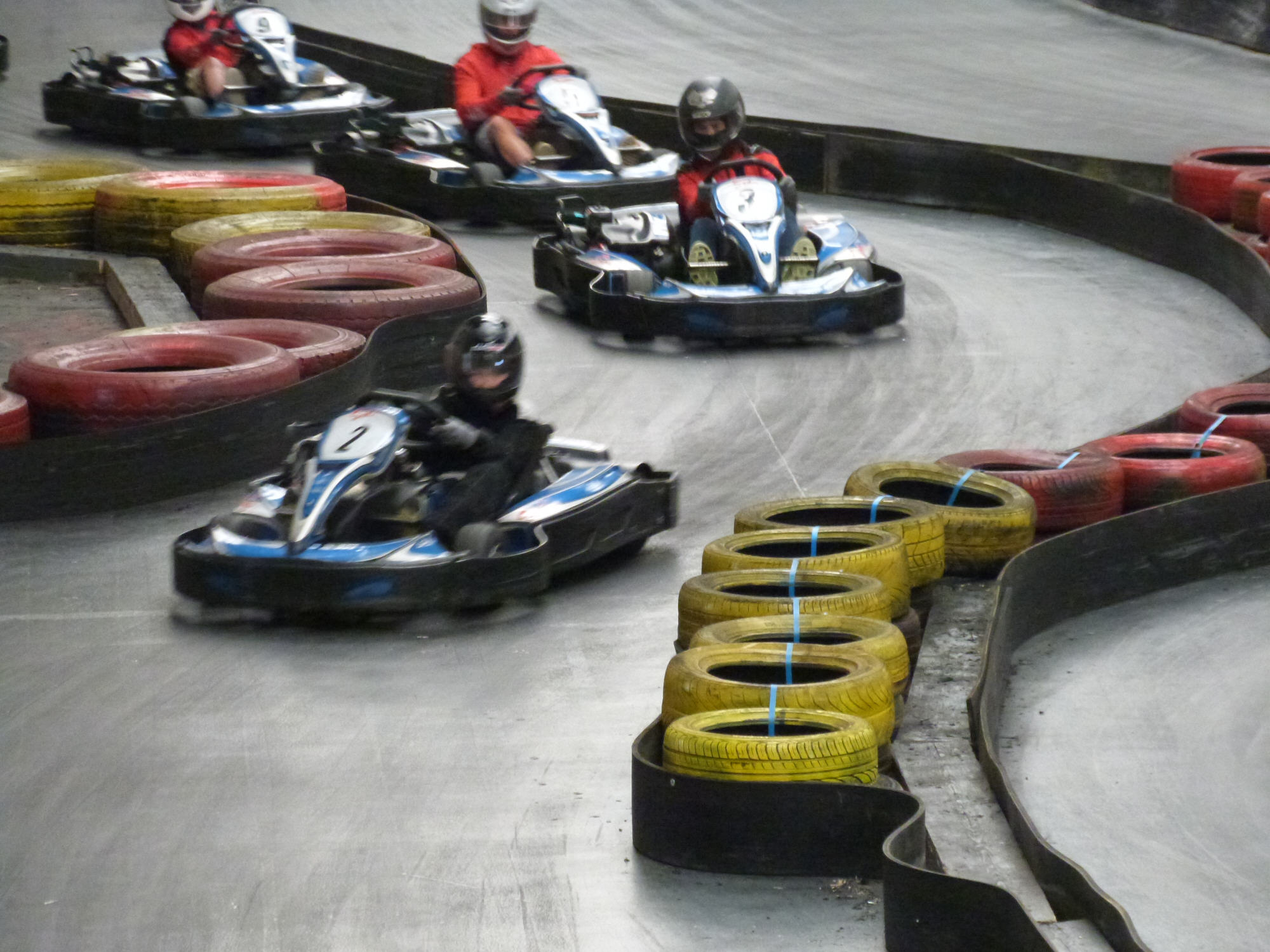 Go cart in action 2