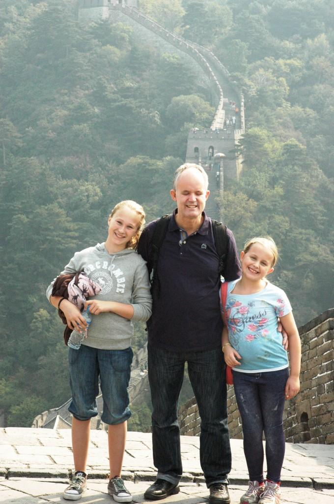 11. Gode venner på den Kinesiske mur